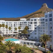Hotel against back drop of Lions Head